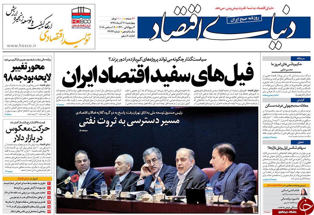 روزنامه های سیاسی