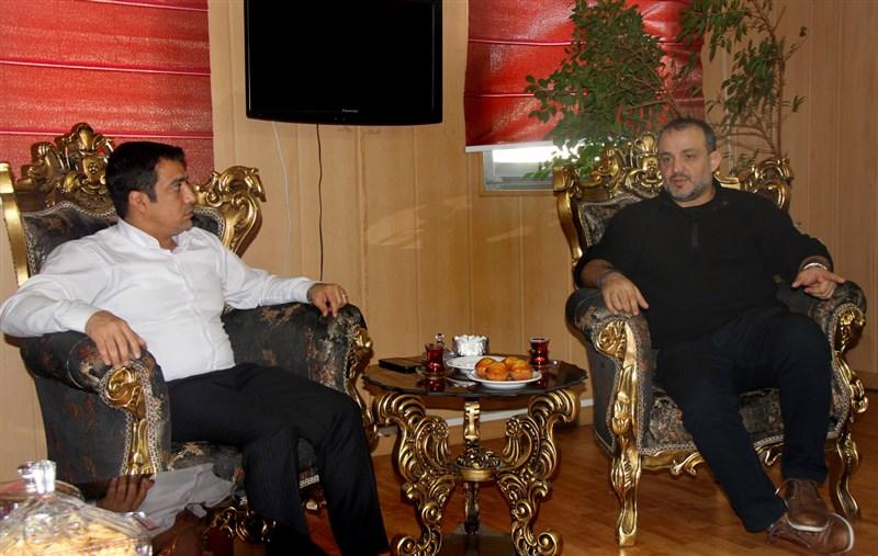 باشگاه خبرنگاران -دیدار رابطین کشتی ایران و آمریکا در تهران