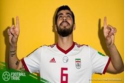 ترس باشگاه انگلیسی از فهرست بازیکنان تیم ملی فوتبال ایران