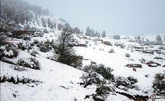 باشگاه خبرنگاران -باراش برف در ارتفاعات گیلان