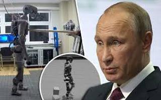 رباتی روسی که انسان از آب در آمد! +فیلم