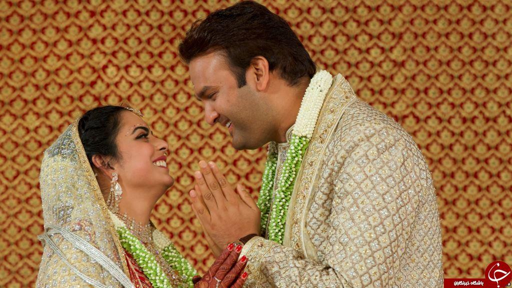 برگزاری عروسی 100 میلیون دلاری هندوستان با حضور هیلاری کلینتون! + تصاویر//