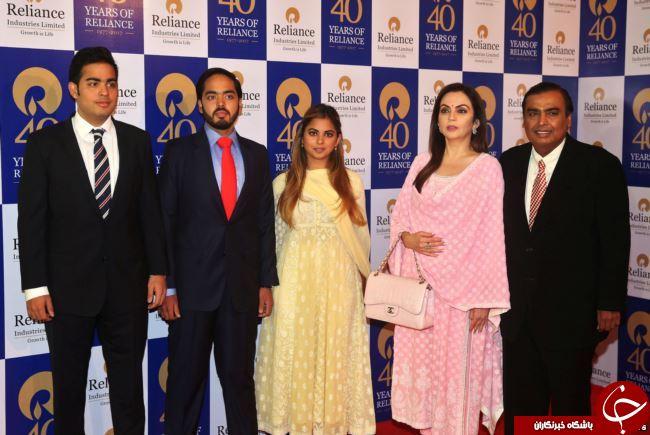 برگزاری عروسی 100 میلیون دلاری هندوستان با حضور هیلاری کلینتون! + تصاویر