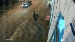 صحنه وحشتناکی که راننده آئودی در خیابان رقم زد! +فیلم