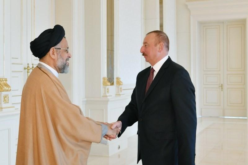 باشگاه خبرنگاران -وزیر اطلاعات ایران با رئیس جمهوری آذربایجان دیدار کرد