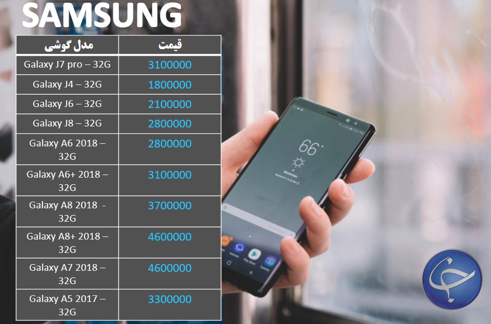 آخرین قیمت تلفن همراه در بازار (بروزرسانی ۲۴ آذر) +جدول