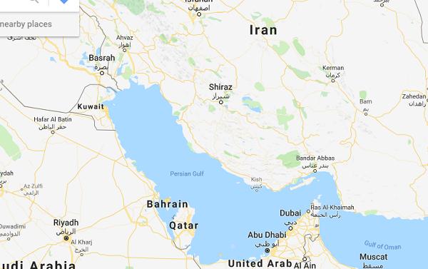 اقدام شیطنتآمیز گوگل در نمایش نام خلیجفارس +عکس