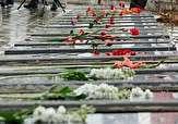 باشگاه خبرنگاران -دانش آموزان مهابادی مزار شهدا را غبار روبی و گلباران کردند