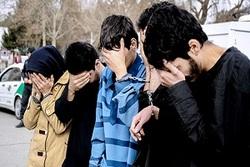 دستگیری دختران زورگیر در تهران + فیلم