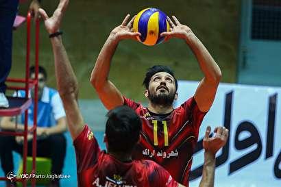 باشگاه خبرنگاران -دیدار دو تیم والیبال پیکان تهران و شهروند اراک