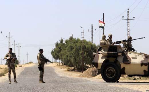 کشته شدن 4 نیروی ارتش مصر در صحرای سینا