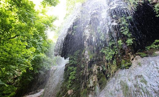 آبشار رویایی و دوستداشتنی پیرغار در گالیکش + فیلم