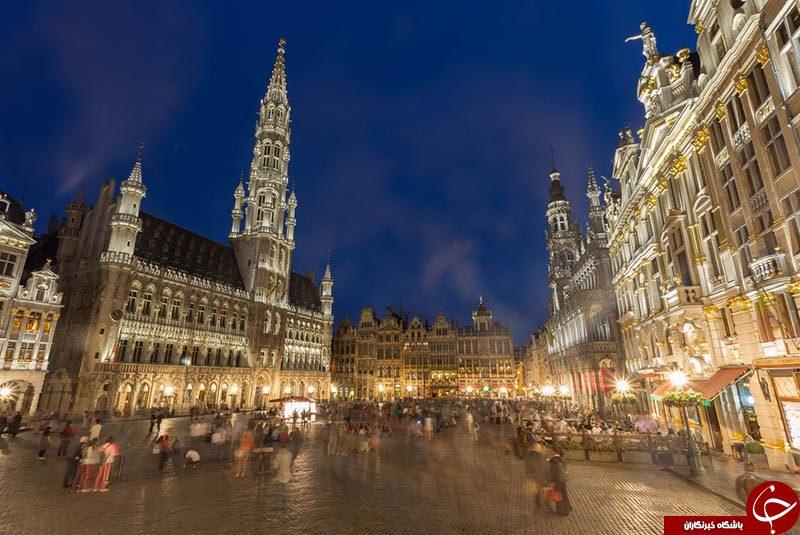 پایتخت بلژیک چه نام دارد؟+تصاویر