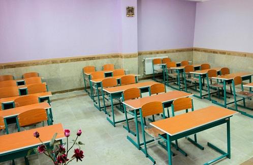 ساخت مدرسه به همت خیران در درجگ بشاگرد