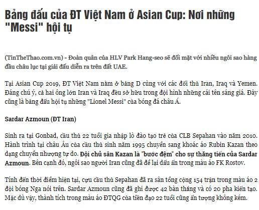 حضور ۳ مسی در جام ملت های آسیا!