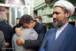 مراسم تشییع پیکر سردار قدرت الله منصوری