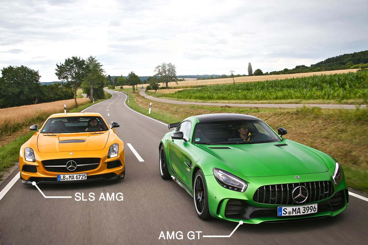 مرسدس AMG GT چهاردرب تنها 4000 دلار گرانتر از مدل کوپه +تصاویر