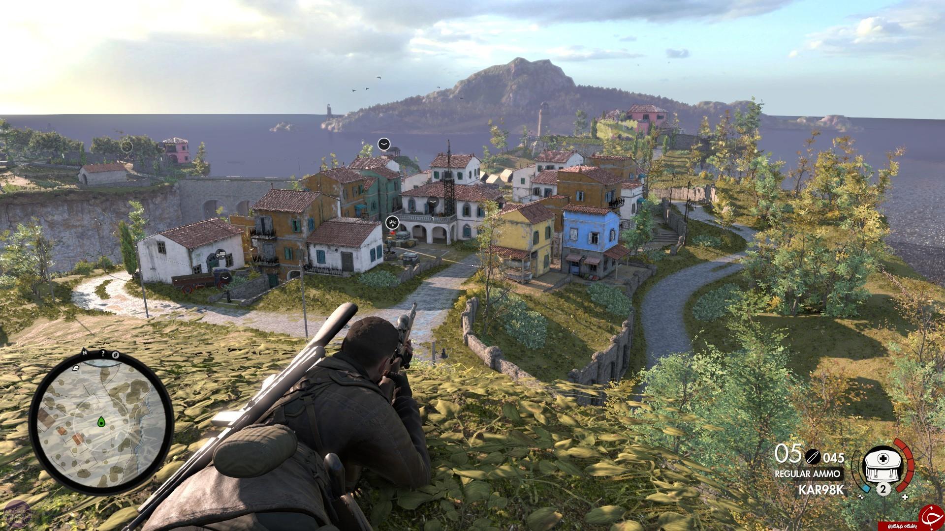 تجربه جنگ های سال 1943 در بازی Sniper Elite ۴ +تصاویر