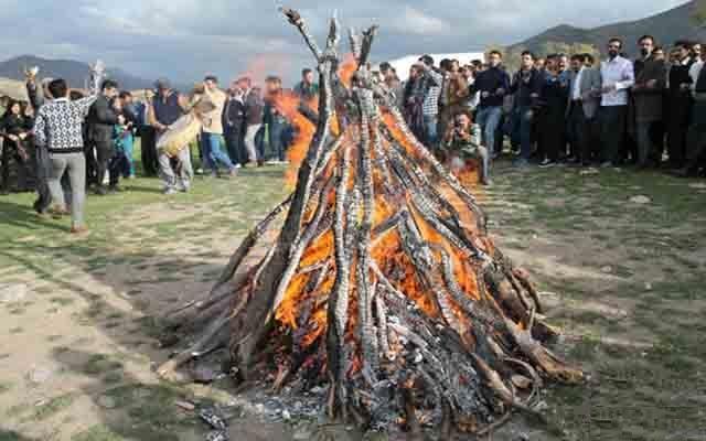 آیین آتش نوروزیِ شب چله ثبت ملی شد