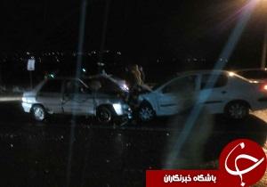 ۶ کشته و زخمی در تصادف جاده دانشگاه آزاد اسلامی بروجرد