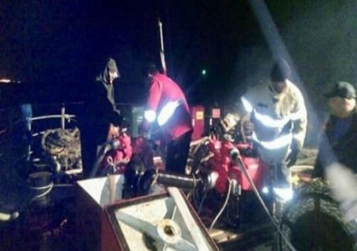 حادثه برای کشتی تجاری نارگل در دریای خزر / اعزام یدک کشها به محل سانحه / سرنشینان سالم اند