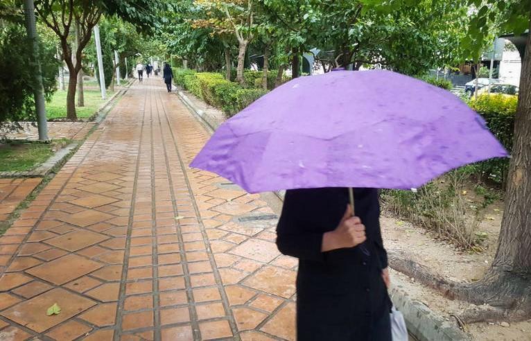 باران هوای تهران را پاک کرد