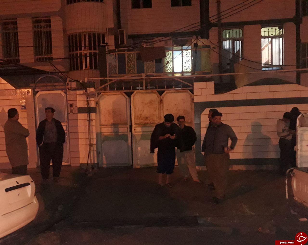 زلزله 6.4 ریشتری کرمانشاه را لرزاند/ بنزین برای سوخت گیری تامین است/ مصدومیت بیش از 400 نفر + فیلم و عکس
