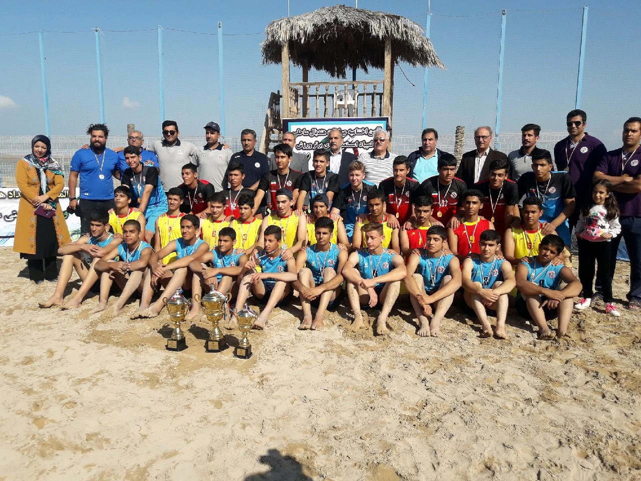 استعدادهای برتر هندبال ساحلی در بوشهر مشخص شدند