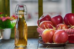 معجزه مصرف سرکه سیب+اینفوگرافی