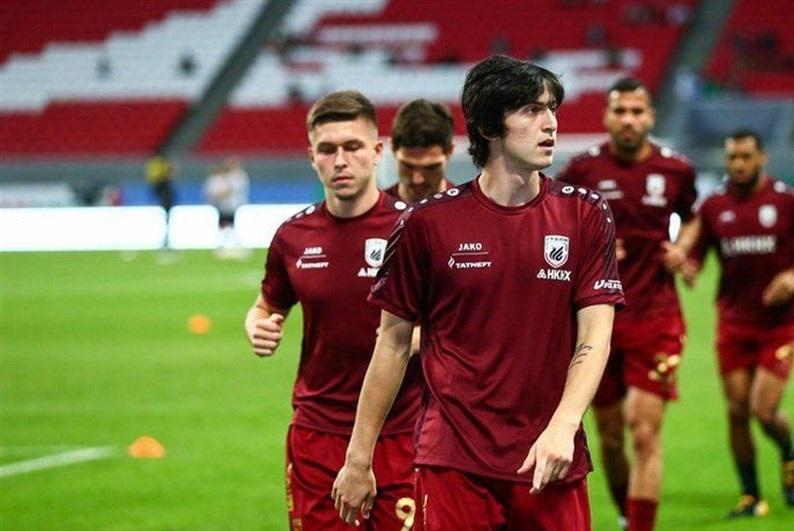 عملکرد آزمون در نیم فصل اول لیگ فوتبال روسیه