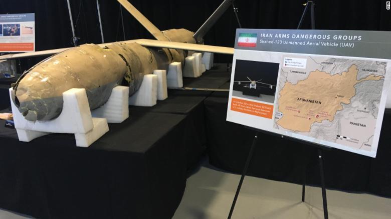 آمریکا دوباره برای متهم کردن ایران نمایشگاه برگزار کرد!+ تصاویر