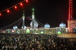 لحظه تحویل سال ۱۳۹۸ در مسجد مقدس جمکران