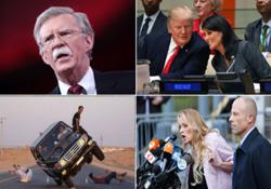 از حمله موشکی آمریکا به سوریه تا ورود جان بولتون به کاخ سفید و تفریح عجیب جوانان سعودی + تصاویر