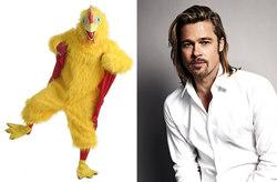 بازیگری که برای جذب مشتری رستوران لباس مرغ پوشید!