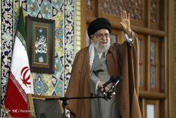 سخنرانی رهبر معظم انقلاب در حرم مطهر رضوی