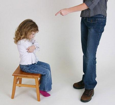 روشهای مناسب برای تنبیه کودکان