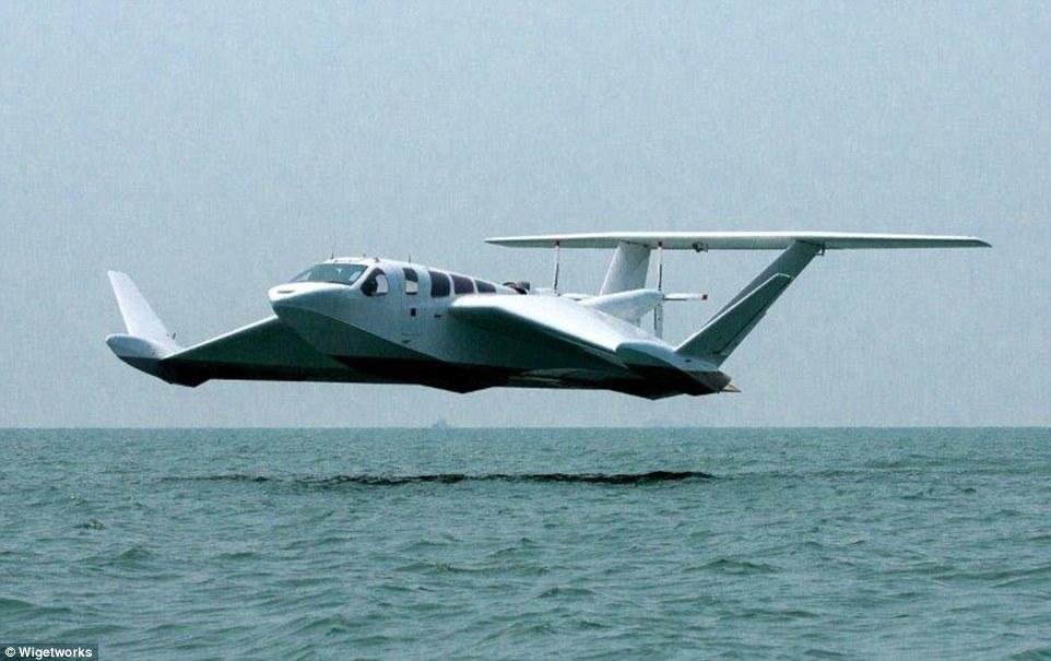 کشتی پرنده ای که روی آب پرواز می کند + فیلم////
