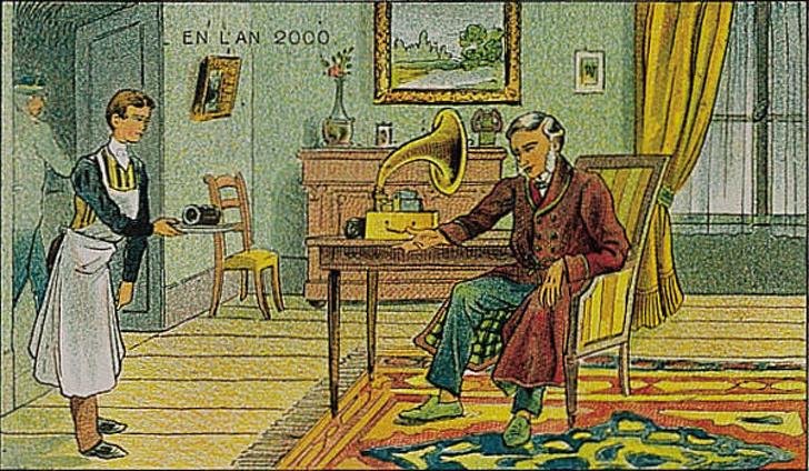 ۱۰۰ سال پیش مردم چگونه آینده را پیش بینی کرده بودند؟ +تصاویر