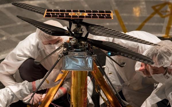 بالگرد مریخ پیما ناسا به زودی راهی فضا میشود