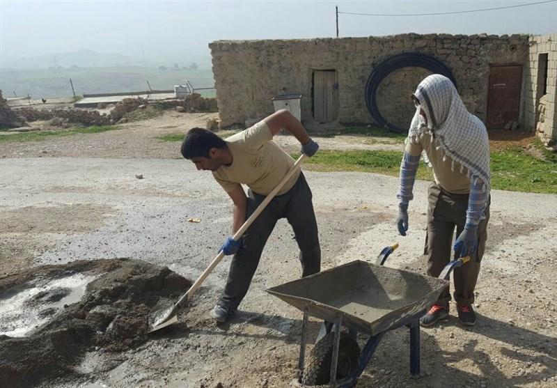 شرکت دانشجویان دانشکدههای صدا وسیما اردوی جهادی در داراب