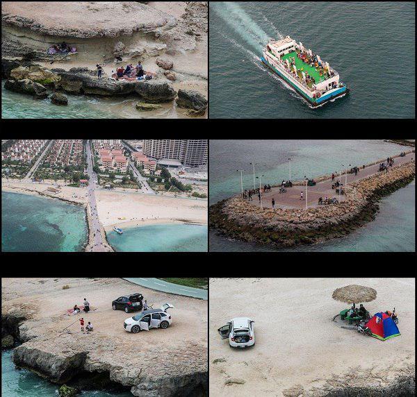 روز طبیعت برفراز جزیره کیش+تصویر