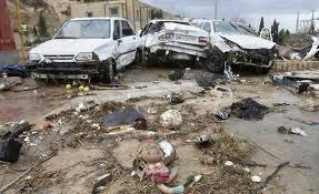 برآورد اولیه از خسارتهای سیل در شهرستان ملایر
