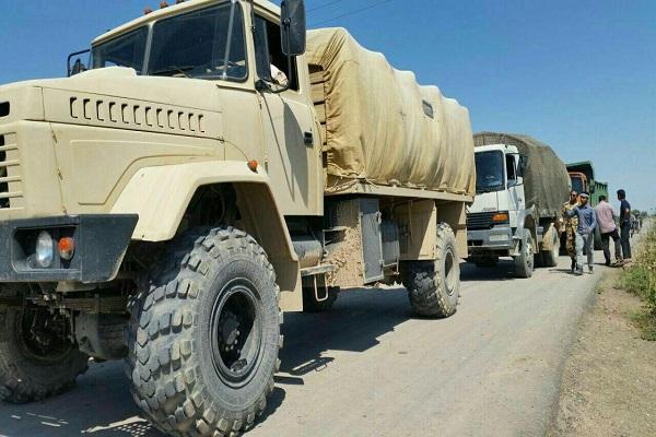 کمک رسانی یکانهای ارتش به مردم خوزستان با تمام توان ادامه دارد