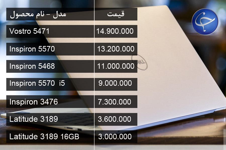 آخرین قیمت انواع لپ تاپ در بازار + جدول - 6