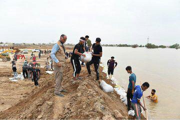 آخرین اخبار از امداد رسانی به مناطق سیلزده دوشنبه ۱۹ فروردین ماه/ اعزام ۱۰۰ قایق تندروی نیروی دریایی سپاه به مناطق سیلزده خوزستان + فیلم و تصاویر