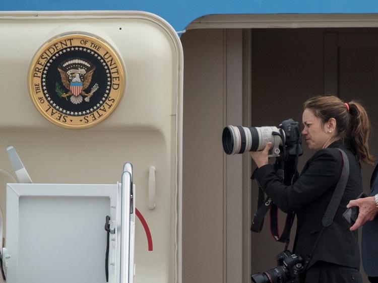 رمز و رازهایی از زندگی عکاس اختصاصی ترامپ/ «شیلا کرگهد» را بیشتر بشناسید + تصاویر