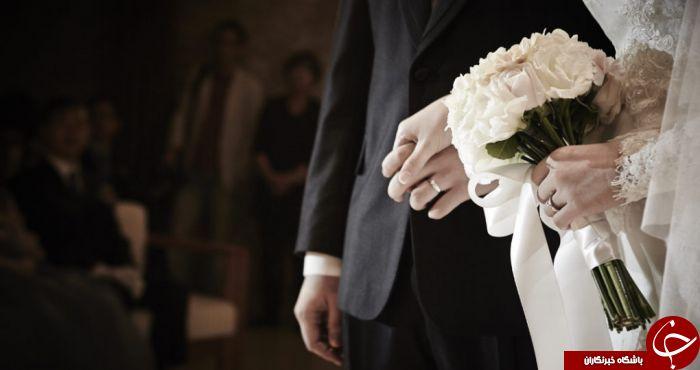 حادثه غیرمنتظره عروس و داماد را راهی بیمارستان کرد!////////////