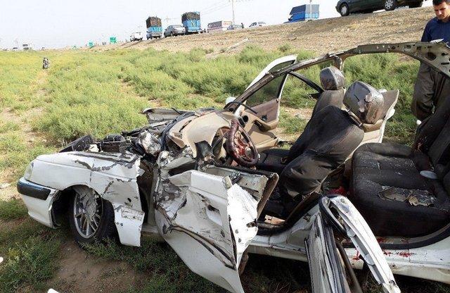 باشگاه خبرنگاران - تصادف در محور ساوه - همدان جان یک نفر را گرفت