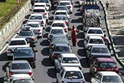 باشگاه خبرنگاران - ترافیک سنگین جاده چالوس در دومین روز نوروز