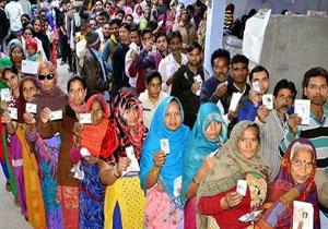 آغاز برگزاری انتخابات مجلس در هند